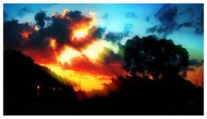 The Golden Sunset by byCavalera