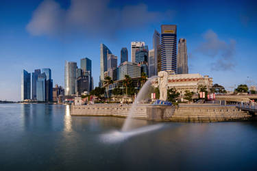 Merlion Singapore by eddietan1977