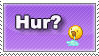 Hur... by patchwork-panda
