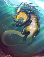 Oceanic Predator by MoltenGoldArt