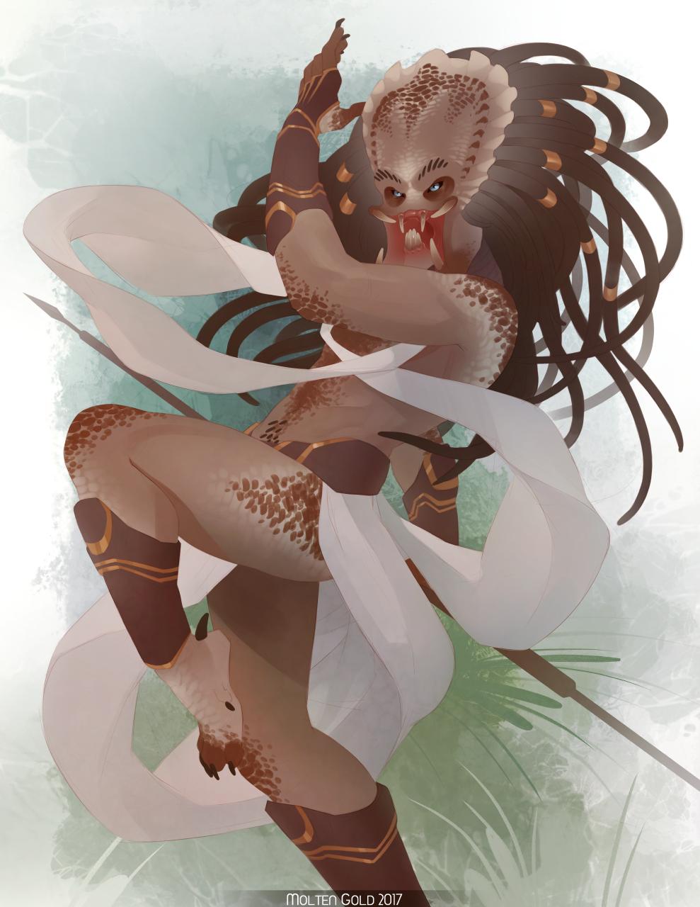 Dancer by MoltenGoldArt