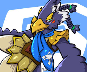 Revali by The-BlueDragoon