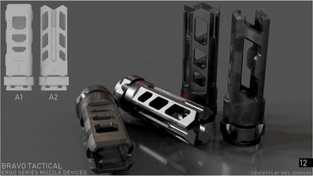 Bravo Tactical - Ergo Series A1/A2 Muzzle Devices by DeRezzurektion