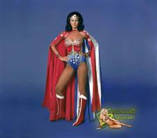 Lynda Carter as Wonder Woman | LCWW023 by c-edward