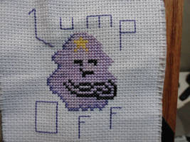 LSP Does not want you on her lumps! by TeaBeeAdventures
