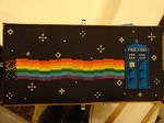 Nyan Cat Tardis! by TeaBeeAdventures