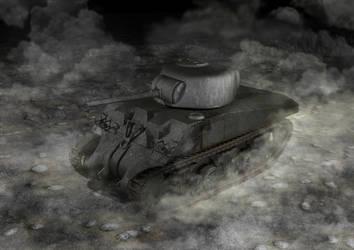 M4 Sherman Tank by aDFP