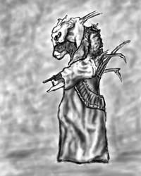Alien Concept Sketch by aDFP
