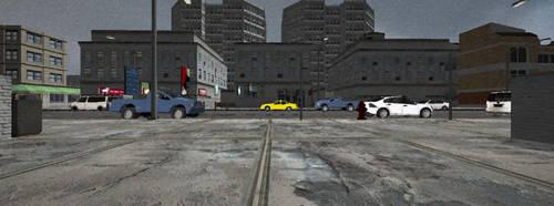 Street Scene by aDFP