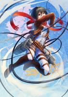 Mikasa by Takos000