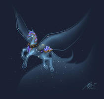 Celestial Steed by Noxychu