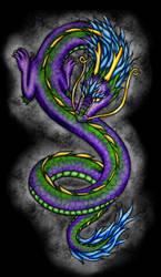 Dancing Dragon by taichikitty