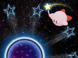 Kirby vs Nightmare Orb by kirbylover226