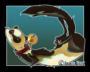Ferret by Vampirneko