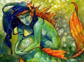 Mermaid by aaronboydarts