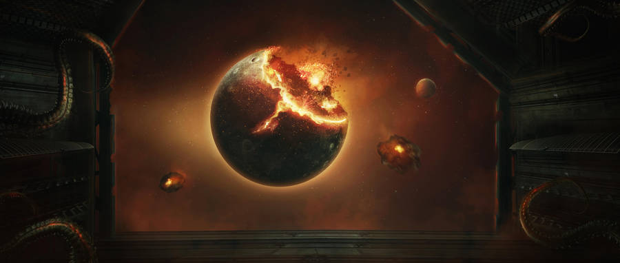 Звёздное небо и космос в картинках - Страница 2 Geostorm_by_charmedy_dc11eta-fullview