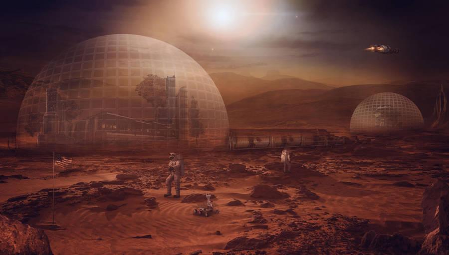 The Mars Colony by charmedy