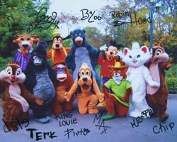 Disney Characters - so random- by AllFades