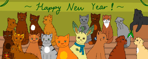 All my OCs! [New Year Picture] by Phoenix450