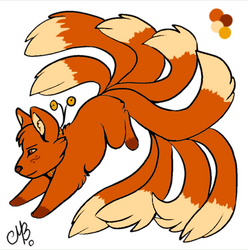 Kitsune OC by Phoenix450