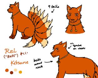 Rei - Kitsune drawings by Phoenix450