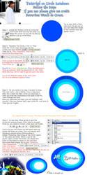 Rainbow Circle Tutorial by legendaryteam