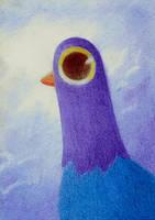 trash dove :3 xd by yeyeyy