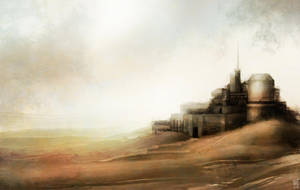 Desert outpost by Marcodalidingo