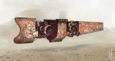 Sand Pirate Ship by Marcodalidingo