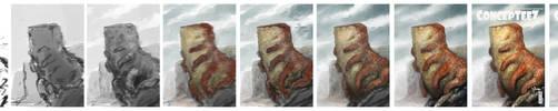 Creature process by Marcodalidingo
