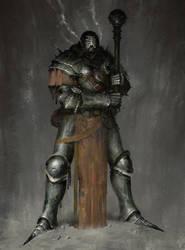 Crusher Knight by Marcodalidingo