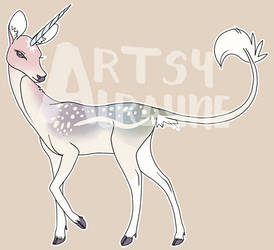 Rainbow Unicorn-Deer Adopt Auction (CLOSED) by ArtsyAlraune