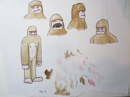 Sasquatch ideas by Clayofmyclay
