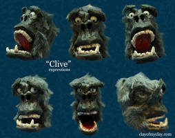 'Clive' by Clayofmyclay
