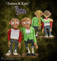 James + Kate by Clayofmyclay