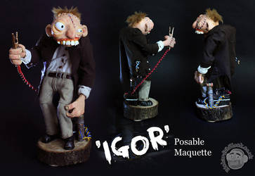 Igor Maquette by Clayofmyclay