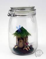 Fairy Jar by Clayofmyclay
