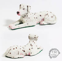 Buster Dalmatian Model by Clayofmyclay