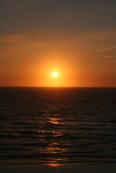 Perranporth Sunset '06 by Clayofmyclay