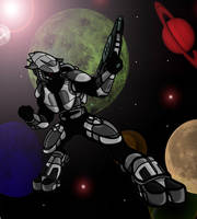 Halo 3 - Elite by HogtiedLucario
