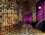 Stained Glass Hall by angichan