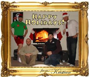 Happy Holidays 2009 by kreshjun