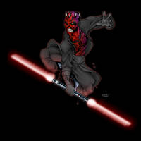 Darth Maul by thenota