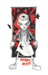 Inktober 02: Eleven by thenota