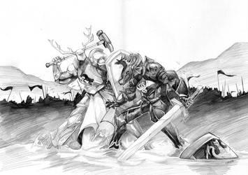 baratheon versus targaryen by thenota