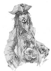 Jack Sparrow by thenota