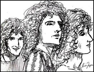 Brian sketches by irispirate