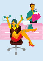 Working Girl by nicole-m-scott