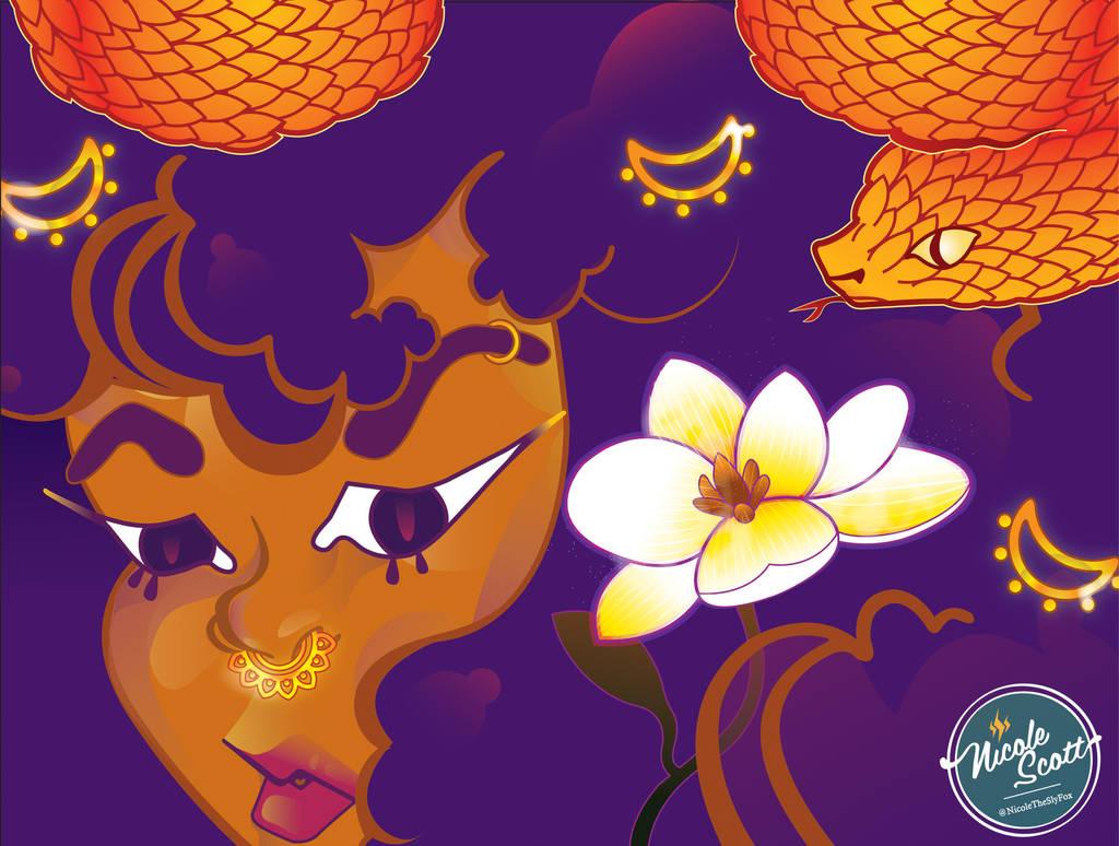 Queen of Serpents by nicole-m-scott