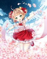 Sakura Kinomoto by hieihirai